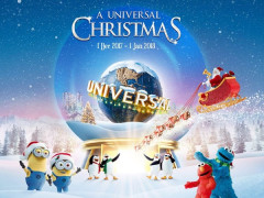 Universal Christmas Special in Resorts World Sentosa from SGD72