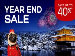 Year-End Sale with Up to 40% Savings in Hotels.com