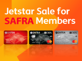 Jetstar Star for SAFRA Members from SGD35