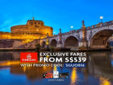 Exclusive Fares to Europe and USA from SGD539 with Emirates and UOB Cards