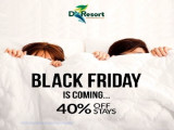 Black Friday Flash Sale with 40% Off Room Rate in D'Resort @ Downtown East