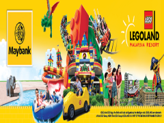 Book with Maybank and Save 30% on Entrance Tickets to Legoland Malaysia Resort