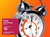 Friday Fare Frenzy in Jetstar is Up Again with Flights from SGD35