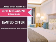 Limited Offer Room Only with 30% Savings in Royale Chulan Penang