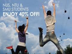 40% Off Rates for Selected Students to Singapore Cable Car Ride