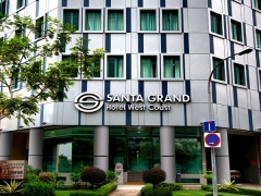 10% Off Room Rate when you Book and Pay with DBS Bank in Santa Grand Hotel West Coast