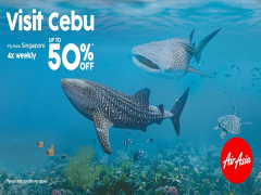 Visit Cebu from Singapore with Fares Up to 50% Off on AirAsia