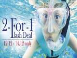 2-For-1 Flash Deal in S.E.A. Aquarium or Adventure Cove Waterpark
