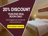 Year End Deal - Room Only with 20% Savings in The Royale Chulan The Curve