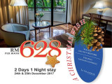 Christmas Celebration 2017 in Le Grandeur Palm Resort Johor from RM628