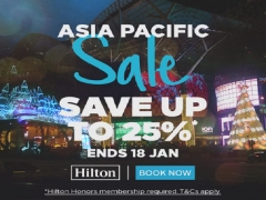 Enjoy Up to 25% Savings with Hilton Hotels in Asia Pacific