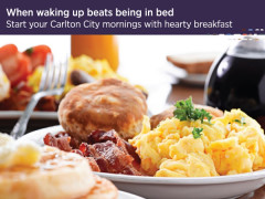 Bed and Breakfast Offer in Carlton Singapore