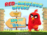 Back to School Offer in Angry Birds Activity Park with up to 20% Discount