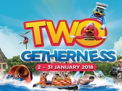 Two-Getherness Offer this January in Sunway Lagoon with Tickets for 2 from RM360