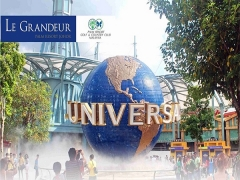 Universal Studios Singapore Room Package from Le Grandeur Palm Resort