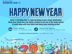 WIN a Roundtrip Ticket to Seoul from Korean Air!