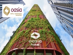 Enjoy Up to 25% Savings in Oasia Hotel Downtown, Singapore with NTUC Card