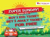 Zuper Sunday Promotion in KidZania Kuala Lumpur