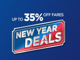 Up to 35% Off Flight Fares with New Year Deals in Malaysia Airlines