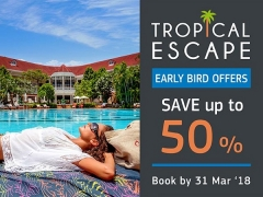 Tropical Escape with Up to 50% Savings in Centara Properties