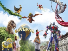 1 Adult One Day Pass in Universal Studios Singapore at SGD68 with UOB Card