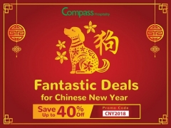 Chinese New Year Promotion with Up to 40% Savings thru Compass Hospitality