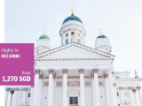 Explore Asia and Northern Europe with Finnair from SGD1,070