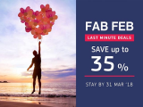 Fab Feb Last Minute Deal in Centara Hotels and Resorts