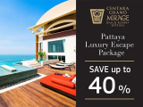 Indulge yourself in a New Level of Luxury in Centara Grand Mirage