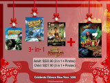 Chinese New Year Special - Best 3-in-1 Promotion in Sentosa 4D AdventureLand