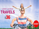 Lovey-licious Travels from SGD36 with AirAsia this Valentines Day