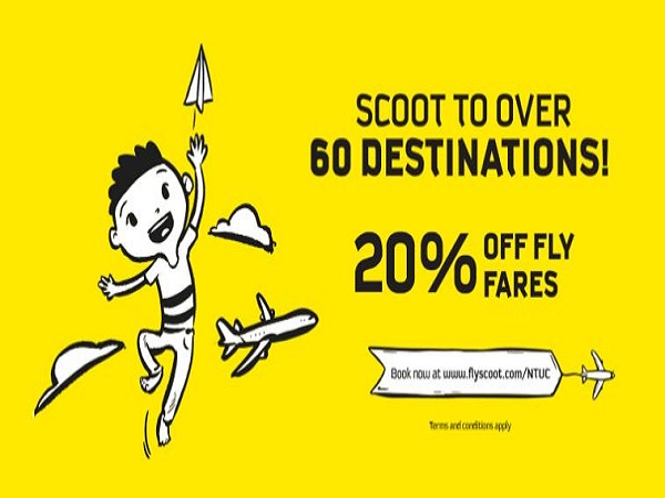 Cheap Air Tickets Deals Scoot To Over 60 Destinations At