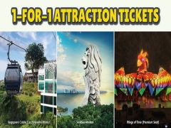 1-FOR-1 Attraction Tickets Specially for DBS/ POSB Cardmembers in One Faber Attractions