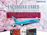 Exclusive for UOB Cardmembers on Flights with Korean Air