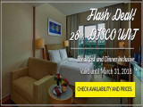 Flash Deal - Breakfast & Dinner Inclusive in The Royale Chulan The Curve