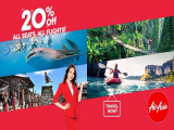 20% Off All Seats, All Flights with AirAsia