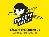Escape the Ordinary this Tuesday with Scoot from 7am-2pm