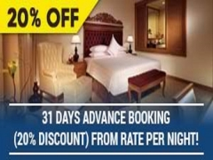 Discount MYR 50.00 Promotion for Room with Buffet Breakfast in Royale Chulan Kuala Lumpur