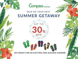 Summer Getaway with Up to 30% Savings with Compass Hospitality