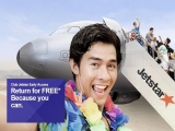 Return for FREE* with Jetstar Special Offers from SGD39
