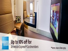 Book your American Express Card on your Flights with Etihad for 10% Savings