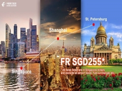 Explore Russia with China Eastern Airlines from SGD225