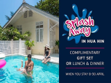 Splash Away on your Songkran Holiday with Centara Grand Beach Resort & Villas Hua Hin