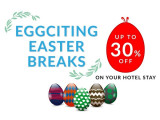 Eggciting Easter Breaks with Up to 30% Savings with Compass Hospitality Bookings