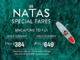 NATAS Special | Fly to Nadi with Fiji Airways from SGD649