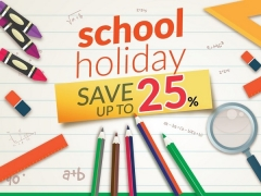 School Holiday Getaway with Up to 25% Off Hotel Bookings on Compass Hospitality