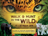 Walk and Hunt in the Wild in Sunway Lagoon until March 25