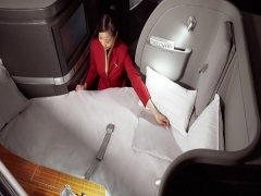 Two-to-Travel First Class and Business Class Fares in Cathay Pacific