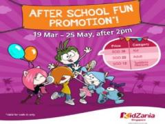 After School Fun in Kidzania Singapore from SGD36