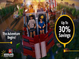 Enjoy 30% discount at LEGOLAND® MALAYSIA RESORT with Maybank Cards!